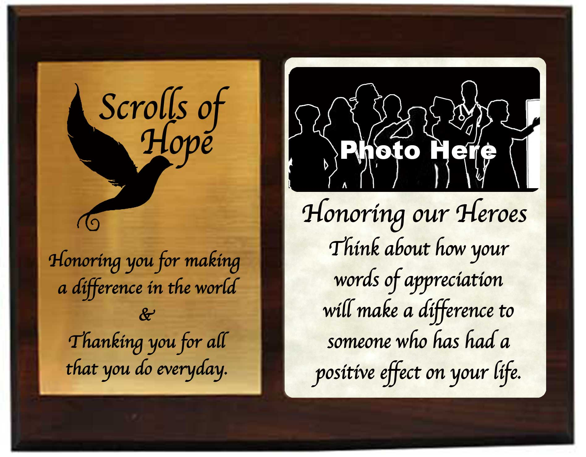Send Scrolls of Hope your Heroes