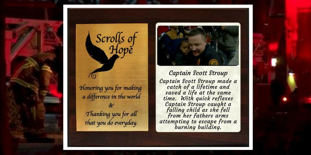 Captain Scott Stroup makes a catch of a lifetime