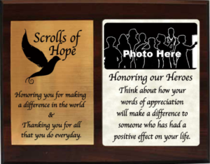 Scrolls of Hope - Send us you hero